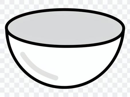 碗:炊具(黑白)