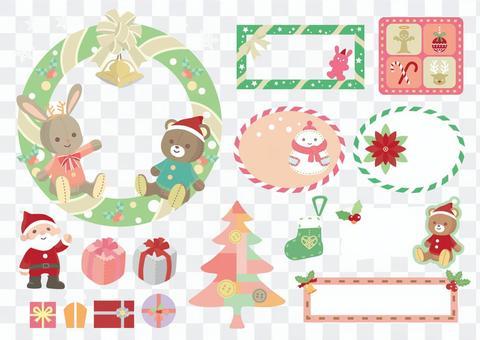 聖誕毛絨玩具材料套裝2