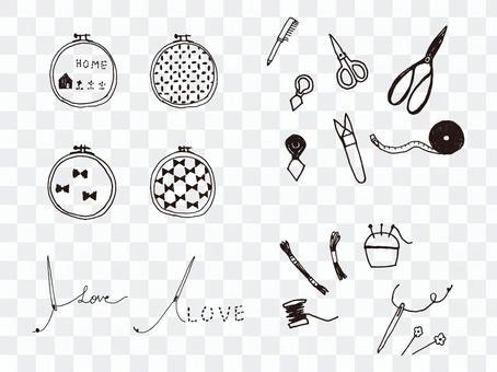 刺繡,工藝品