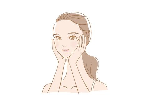 化妝的女人(習慣)