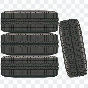 Tire-01 (4 pieces set)