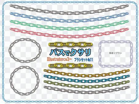 鏈與路徑繪製