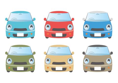 汽車 小型車 6 種安排