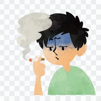 男子誰吸煙