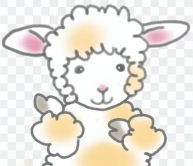 羊ほほえみ