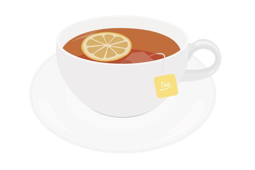 레몬 티 티백