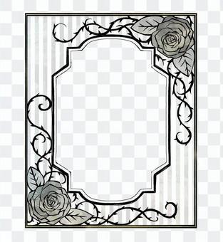 Book Roses Frame 04