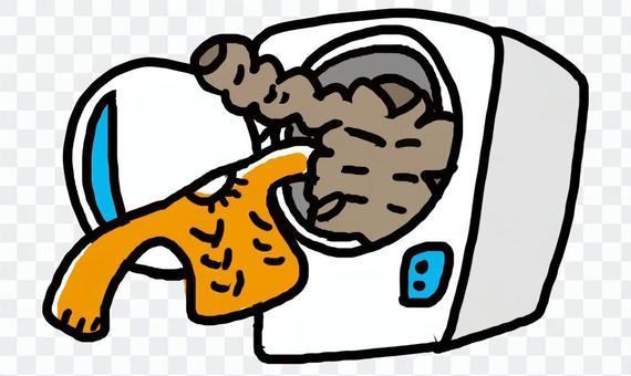 セーターもダウンも洗濯できる