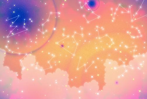 Starry sky view 132