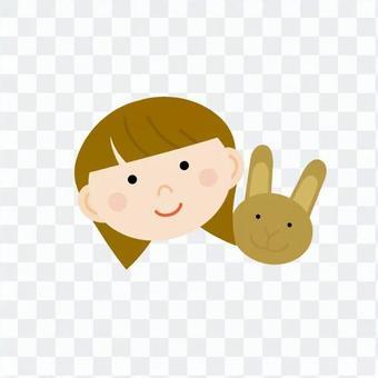 兔子和女性