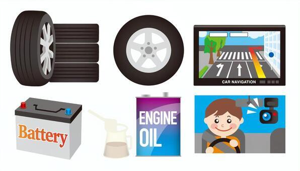 Car car material