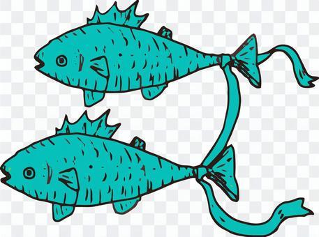 Illustration of Pisces