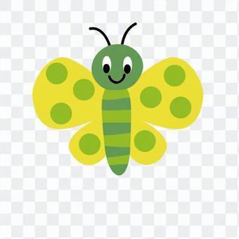 黃蝴蝶的翅膀