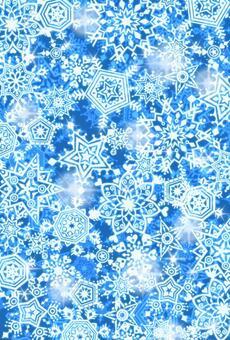 Snow stardust 2 (blue)