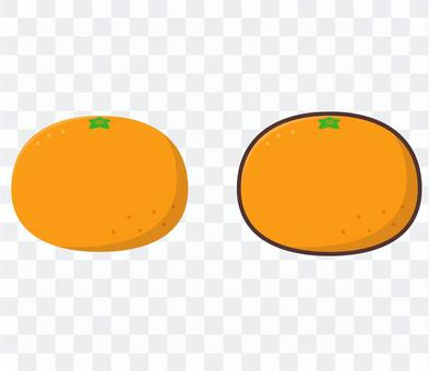 橘子單點圖L