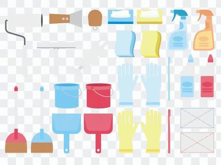 A040。清潔工具