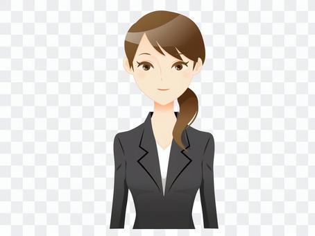Suit lady 02