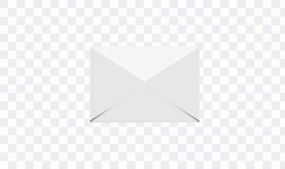 電子郵件字母圖標未打開