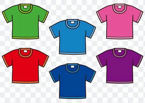 Tシャツ(6色セット)