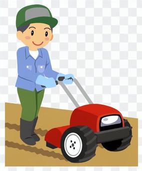 農業-耕運機