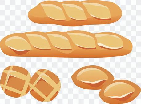 法式麵包集