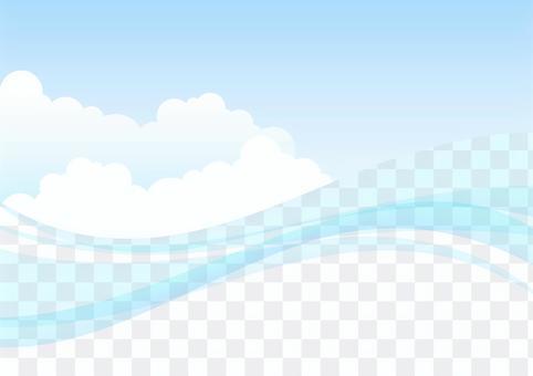 曲線和雲1