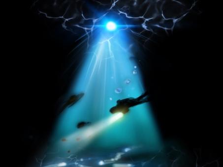 綺麗 海 潜水