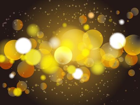 閃閃發光的背景金色/黑色