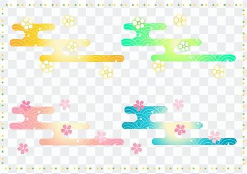 日本新年日本模式的插圖