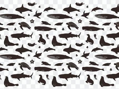Animal pattern - sea