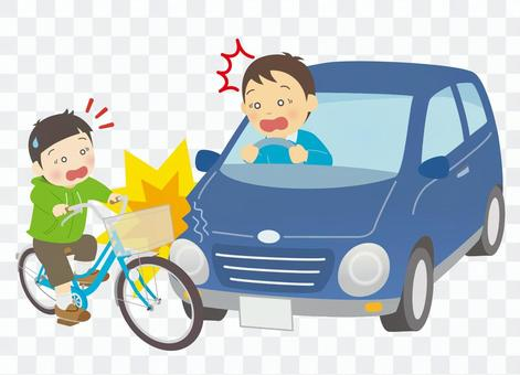 自動車&自転車の人身事故