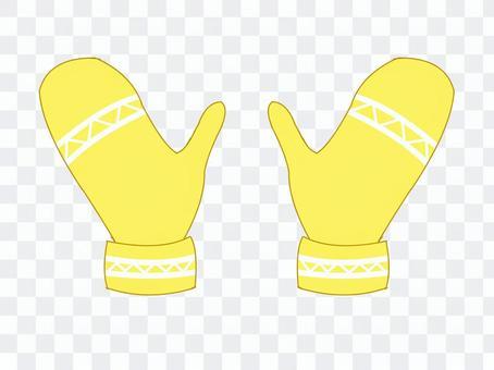 手套手套·黃色