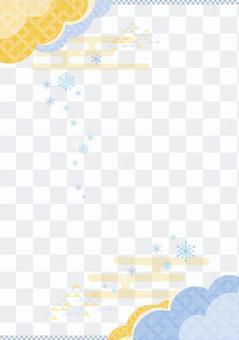 雪晶日式背景3