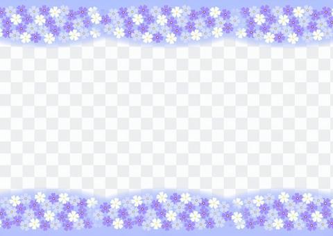 Shiba cherry frame (blue)