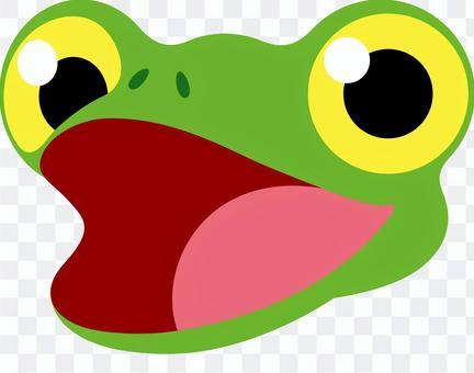 青蛙的表情说话