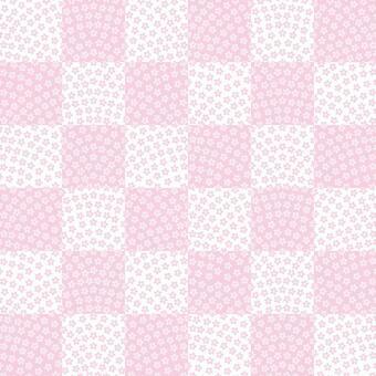 桜鮫小紋 石畳 日本の伝統文様