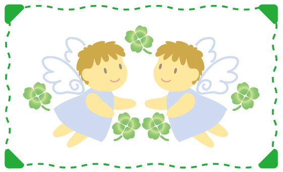 天使和三葉草
