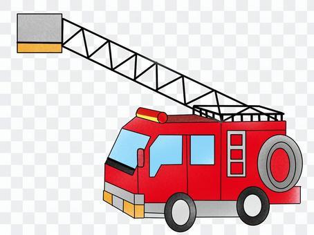 火,消防车