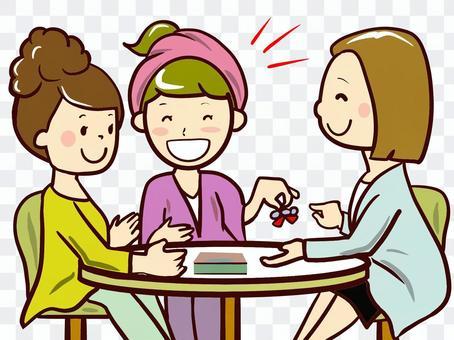 chacha 商談 女子会