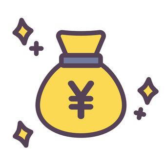 Money bag_glitter