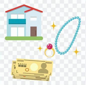 房屋和珠寶