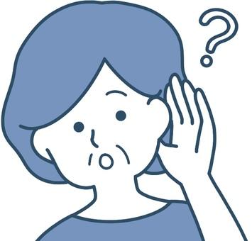 耳聾的聽力圖片