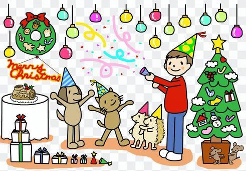 祝福聖誕節