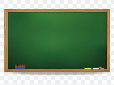 學校的黑板