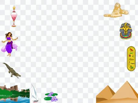 Egyptian image frame