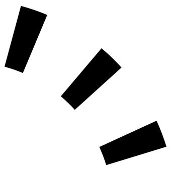 3 effect lines Black emphasis Inspiration
