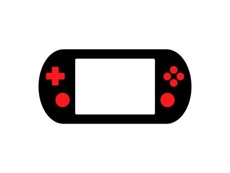 Game console black