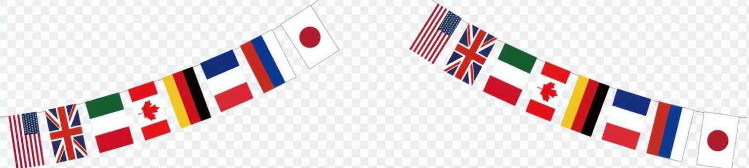 萬國旗(2本)
