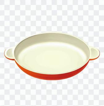 Heat-resistant dish