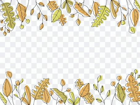 可在秋季使用的植物背景
